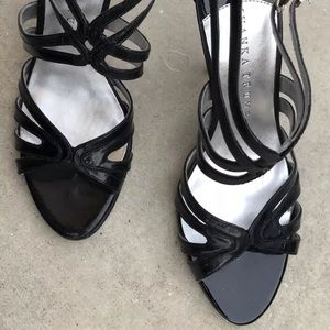 Ivanka Trump patent leather stilettos